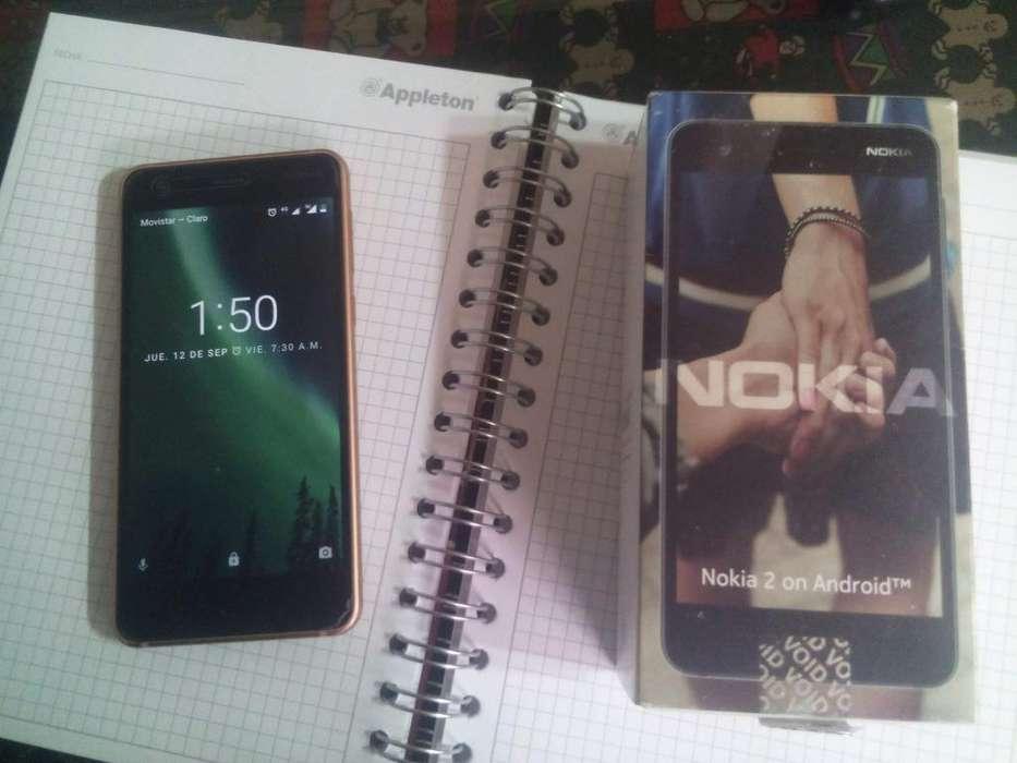 Nokia 2 Celular Android Dual Simpowerbanckregalo