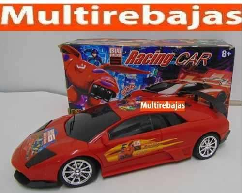 Carro Big Hero Con Sonido Cr