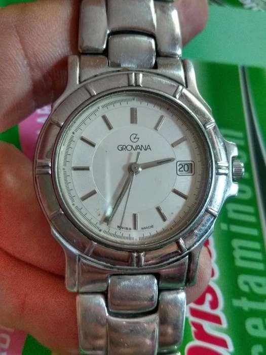 Reloj Grovana Suizo Original Ganga