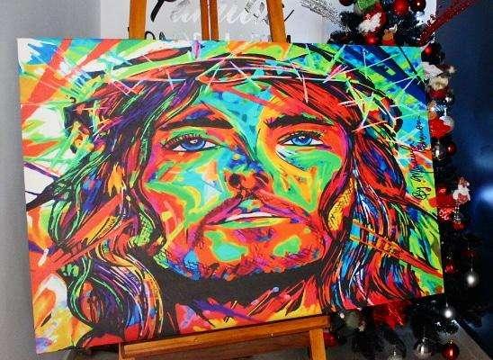 Cuadro decorativo de jesus 4359