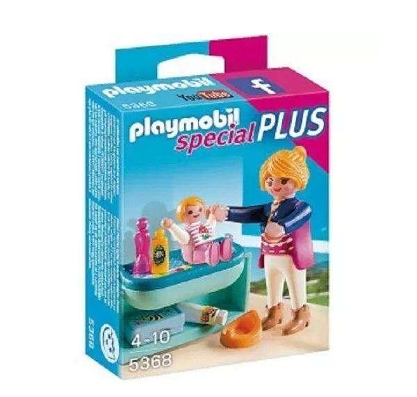 Playmobil Special Plus - Niña Con Cambiador Para Bebe - 5368
