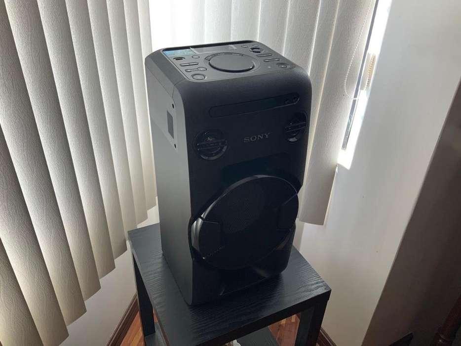 Parlante Pre Amplificado Sony Mhc-V11 Bluetooth Usb Cd Rca