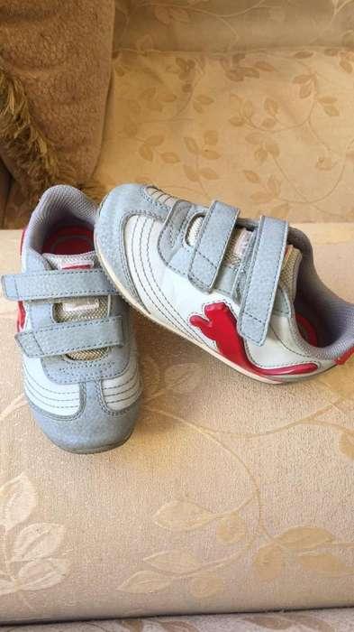 Zapatos Puma con Luces Talla 8