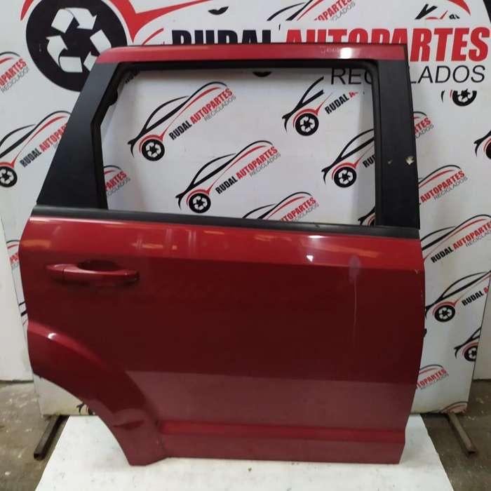 Puerta Trasera Derecha Dodge Journey 10925 Oblea:01814928