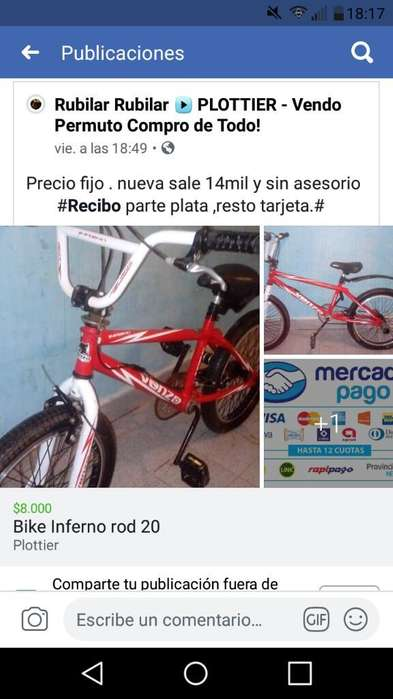 Bike Marca Venzo Inferno