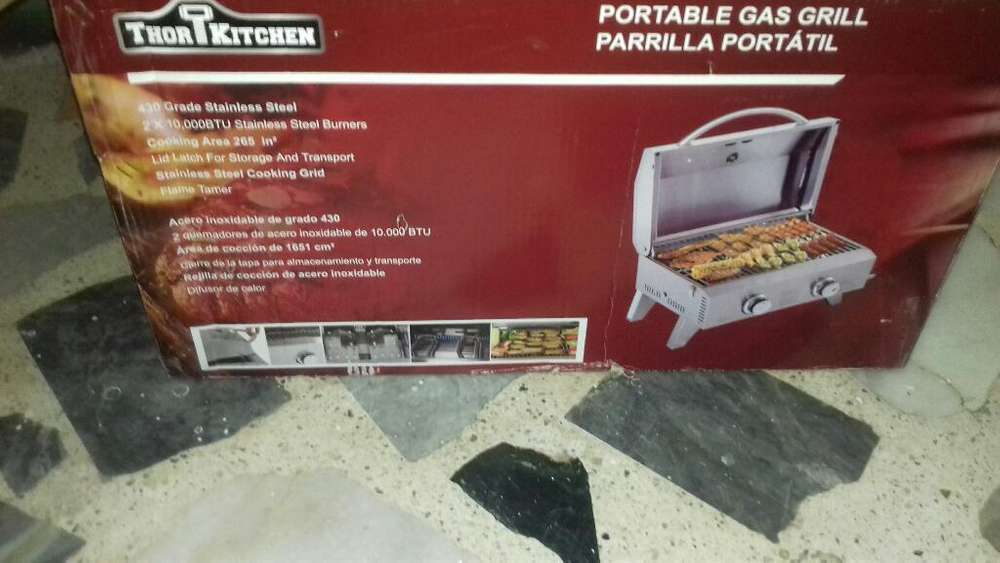 Parrilla Portatil Gas Thor Kitchen Nuevo