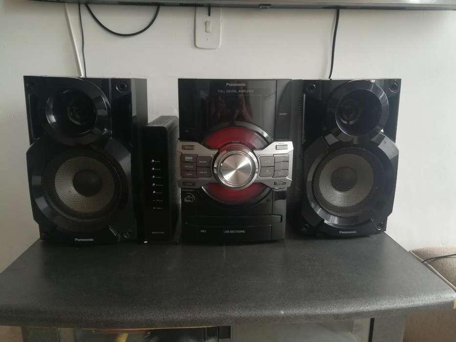 Equipo Sonido Panasonic Usb Mp3 Cd