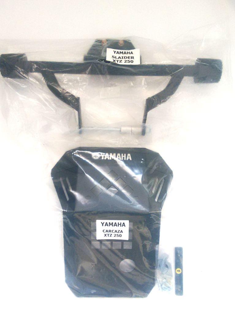 Pechera Aluminio  Sliders Yamaha Xtz 250