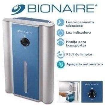 Mini Deshumidificador de Aire Bionaire