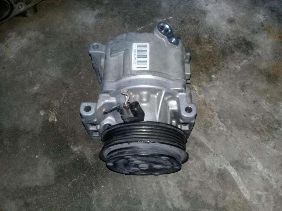 compresor y radiador de aire fiat punto siena fire 1.4