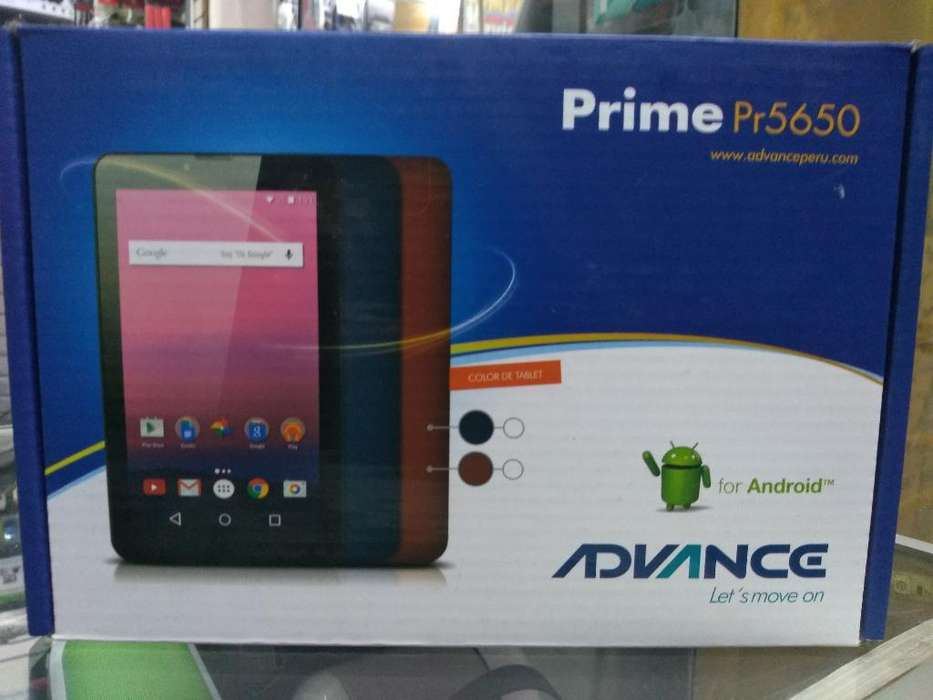 Tablet Advance con Chip