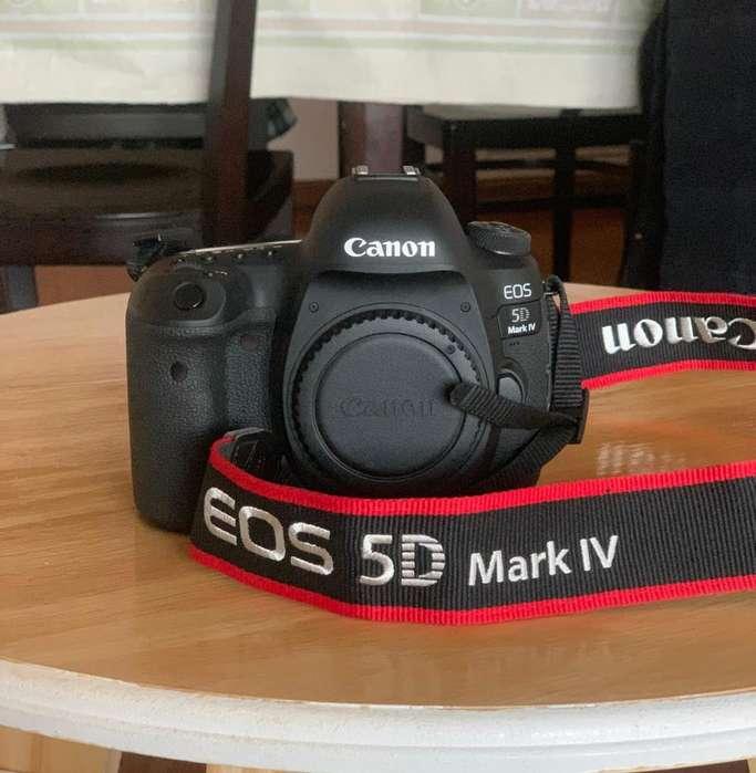 Canon 5d Mark Iv Body. Como Nueva!