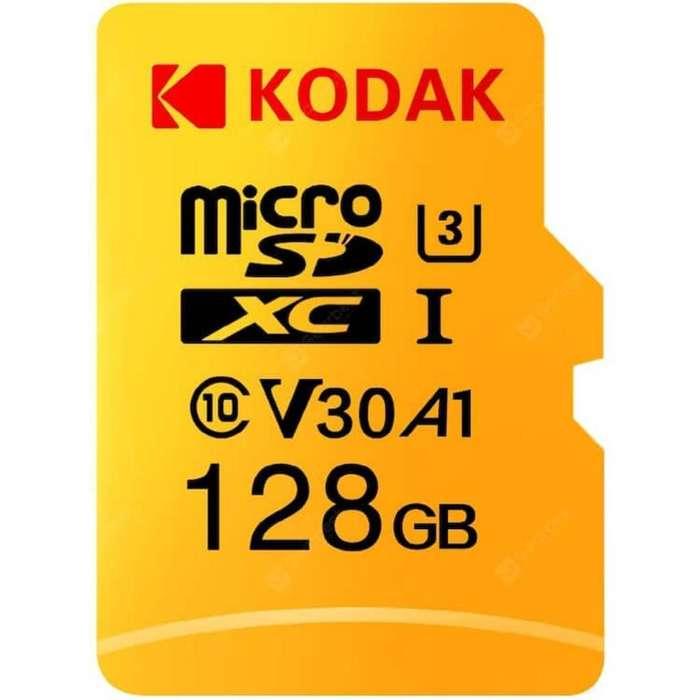Memoria Microsd Kodak 128 Gb Nuevo