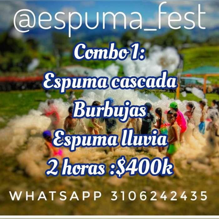 Show de Espuma 1a