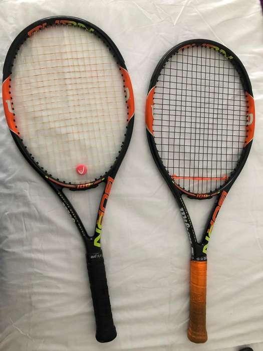 Raquetas Wilson Burn 100