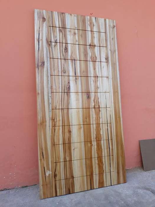 Fabrico Puerta de Teca Laurel