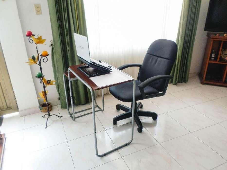 Escritorio Y <strong>silla</strong> Graduable Oficina Combo