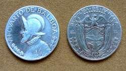 Moneda de 2 1/2 centésimos de balboa Panamá año 1907