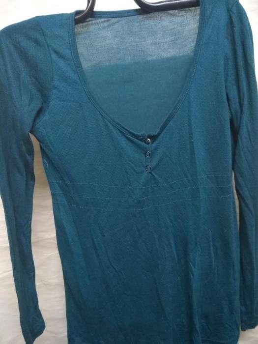 remeras TM (2 remeras300) m.larga cuello (U y V ) jersey