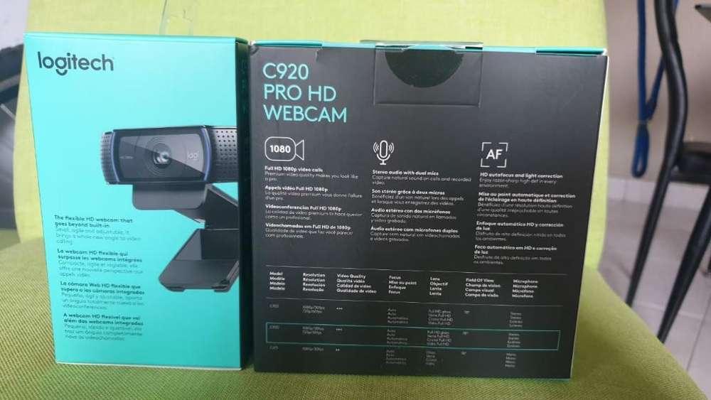 Vendo Web Cam Pro Hd C920 Logistic Nueva