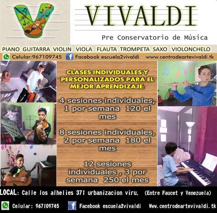SAXO piano violin guitarra clases de musica bellavista 967109745