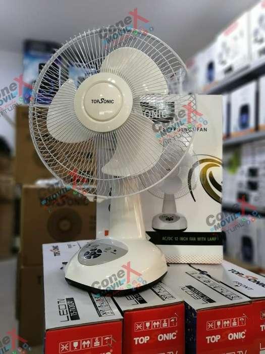 Ventilador Recargable Topsonic