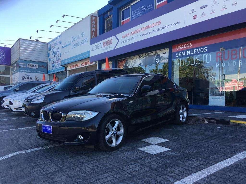 BMW 125i Coupe Executive AT 2012 Entrega $420.000 y cuotas! Solo DNI