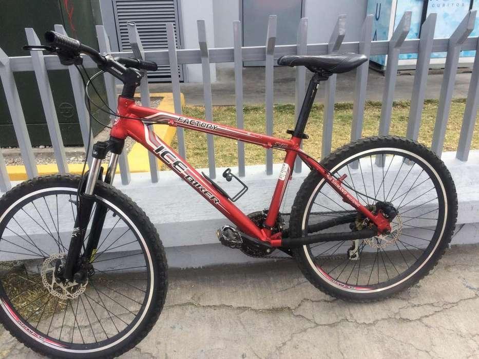 <strong>bicicleta</strong> ice Biker Rin 26 full Shimano