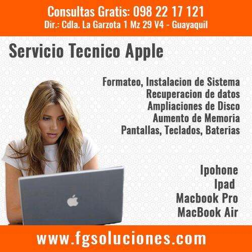 Servicio Técnico Especializado Apple