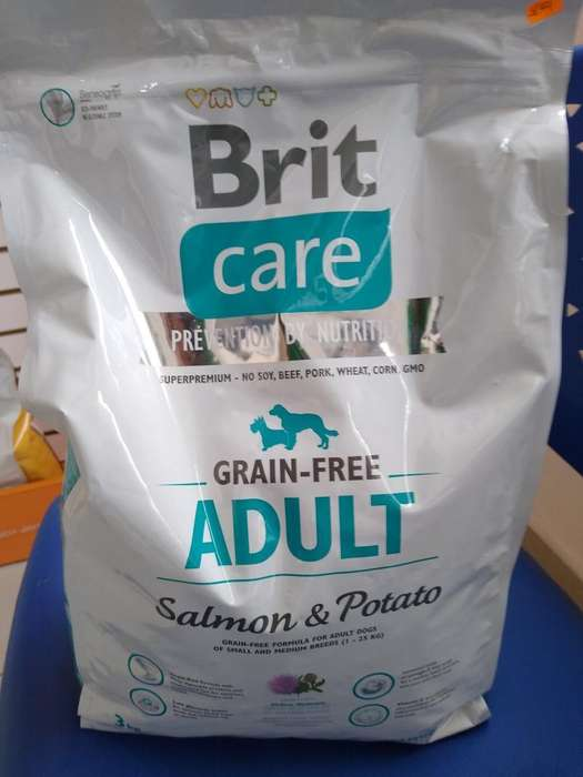 Brit Adulto Salmon 3kg