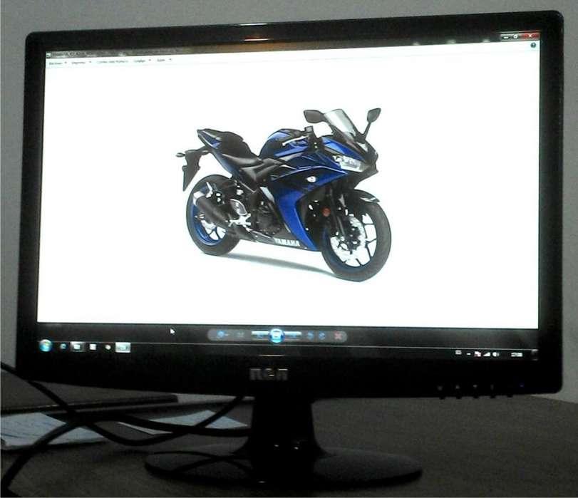 """<strong>monitor</strong> 19"""" WIDE LCD RCA LM19WM. EXCELENTE ESTADO E IMAGEN!!!"""