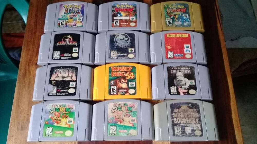 Juegos Nintendo 64 Videojuegos N64