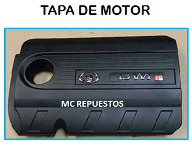 TAPA DE MOTOR GREAT WALL, HAVAL Y OTRAS MARCAS CHINAS