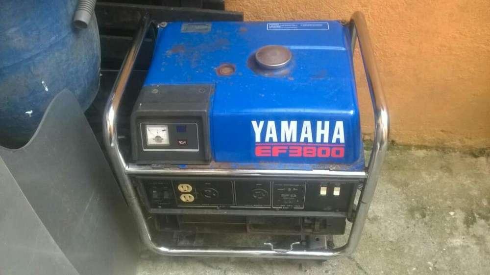 Planta Electrica Yamaha Ef3800