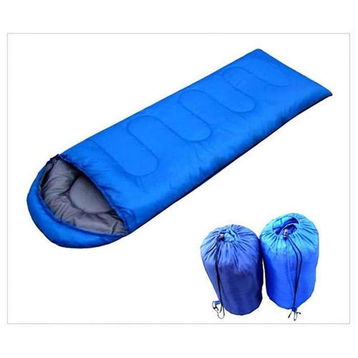 Saco de Dormir Camping usado en Rojo o Azul