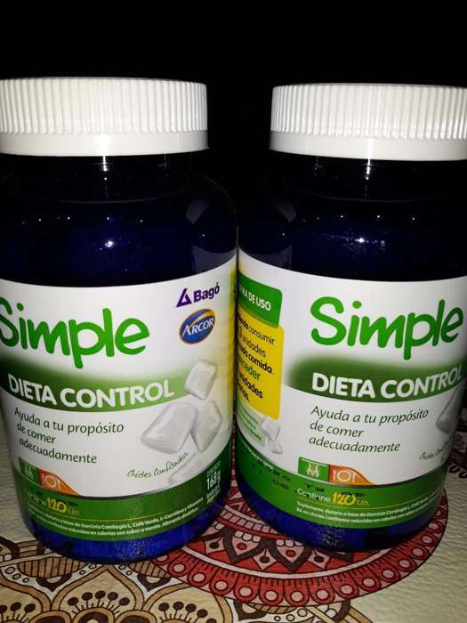 Chicles Simple Dieta Control