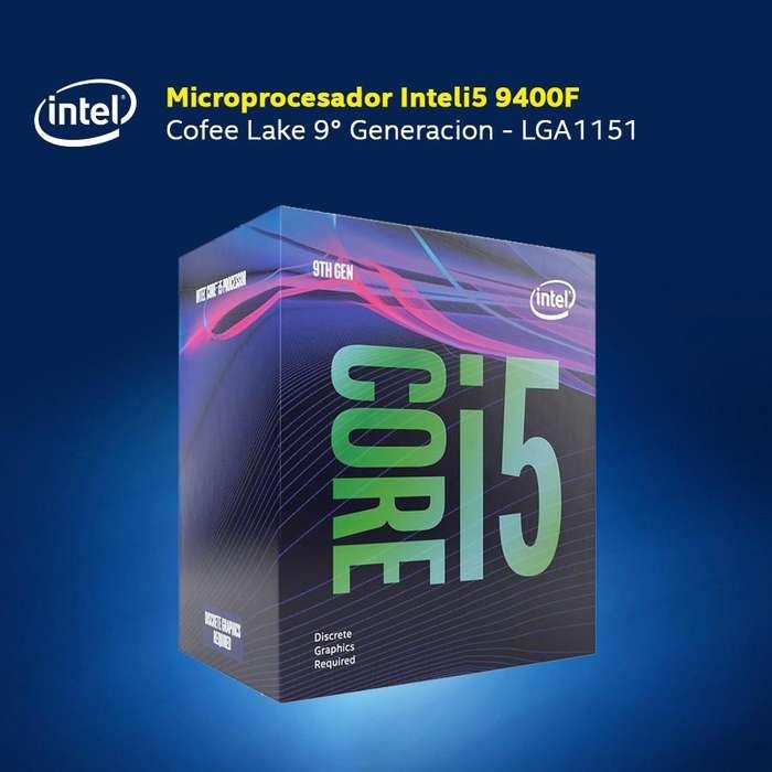 Procesador core i5 de novena generacion 9400f