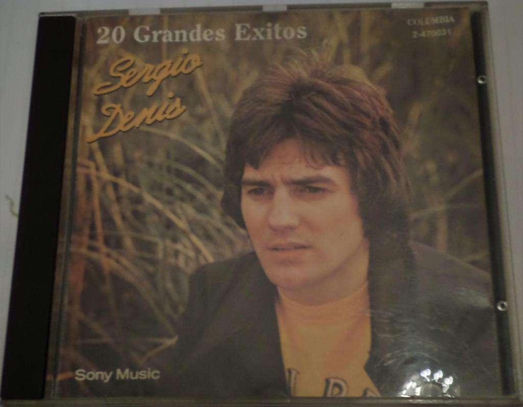 Sergio Denis. 20 Grandes Exitos. 1991. Cd original. Impecable