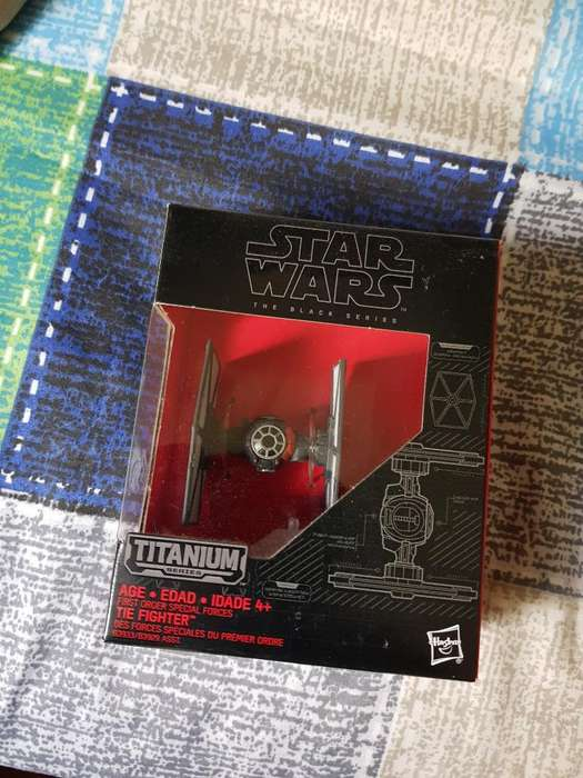 Nave Star Wars de Coleccion Sellada New