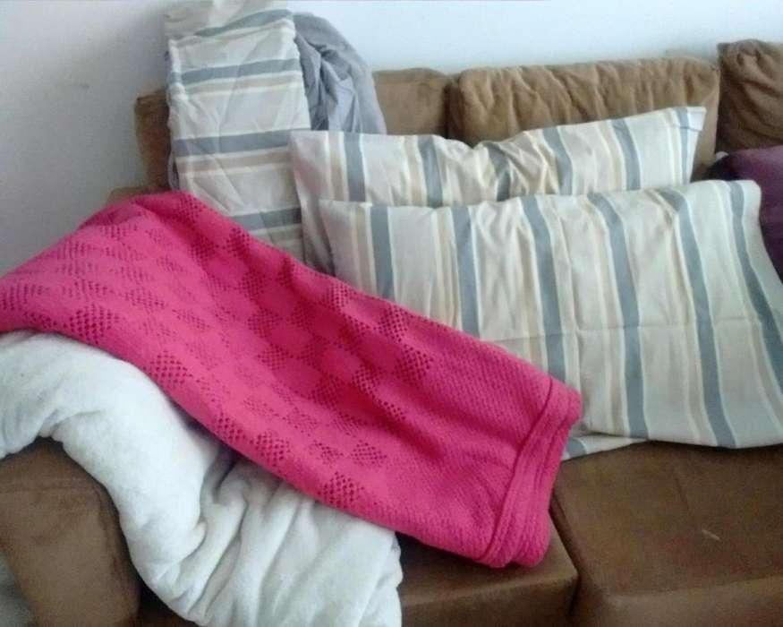 Combo 2 plazas - sábana frazada y 2 <strong>almohadas</strong> gratis – La Plata