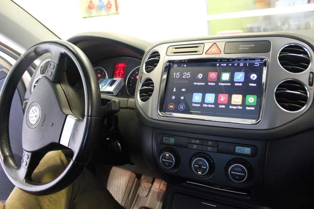 VW VOLKSWAGEN TIGUAN ESTEREO CENTRAL MULTIMEDIA STEREO CON ANDROID, GPS, BLUETOOTH