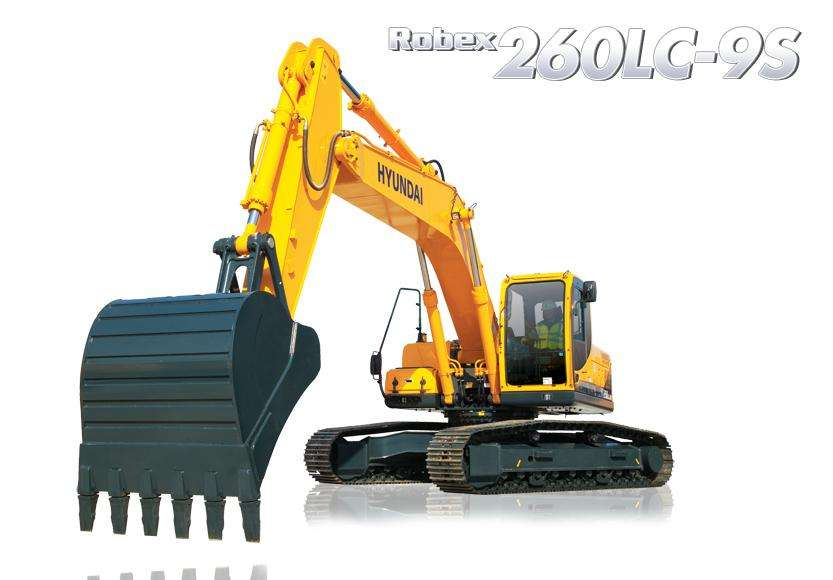 EXCAVADORA HYUNDAI R260LC-9S 26 TON