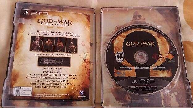 Vendo God Of War Ascension