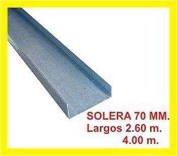 SOLERA DE 70 MM PERFILES DURLOCK