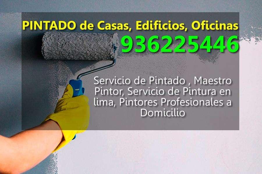 Servicio Pintado de Casas, Edificios, Oficinas. Pintores a Domicilio. Pintor, Pintura