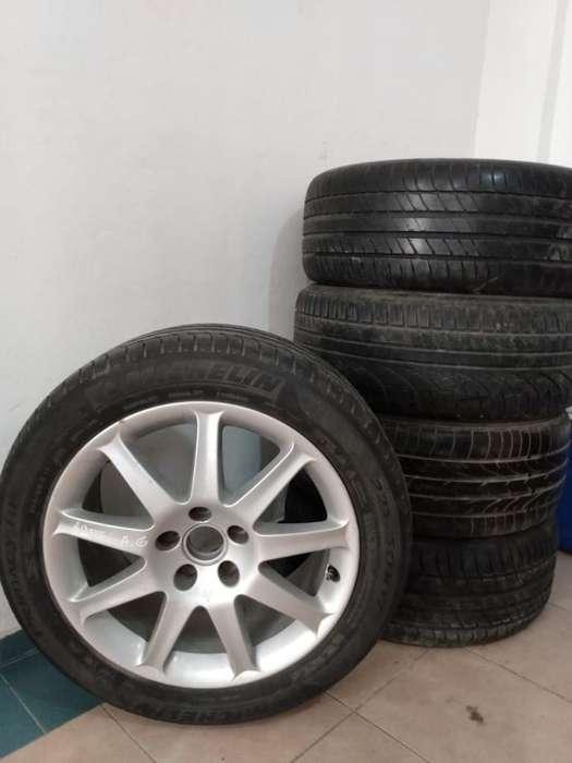 Vendo 5 <strong>llanta</strong>s Michelin 225/50 R17