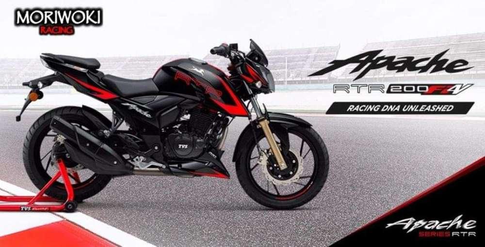 <strong>nueva</strong> Tvs Apache 200 2.0 Fi. Moriwoki