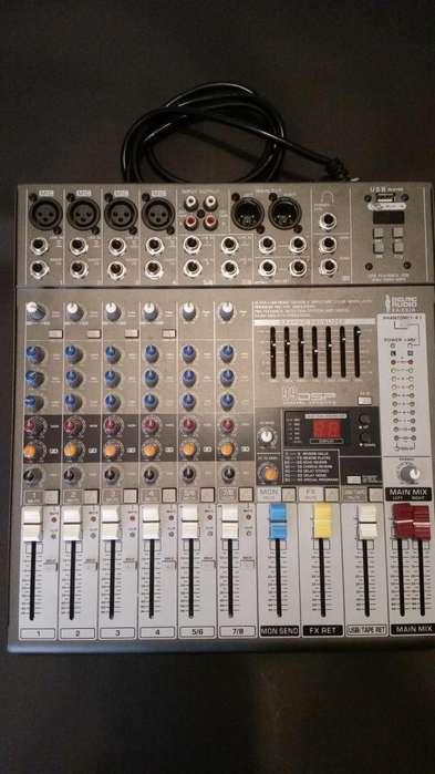 Oferta!!! Consola Nueva England Audio 8 Canales Profesional o Cambio por Celu