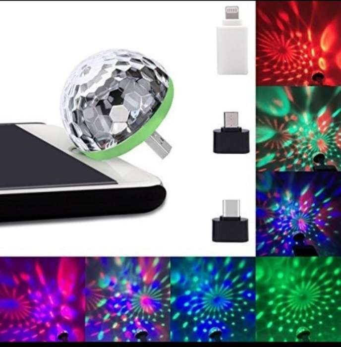 Mini Luz Led Audioritmica Usb