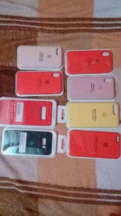 estuches de silicona para los Iphone y samsung original
